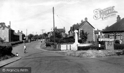 Dilton Marsh, War Memorial And High Street c.1955