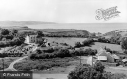 Dinas Cross, c.1960