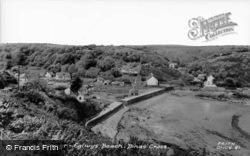 Cwm Yr Eglwys Beach c.1960, Dinas Cross