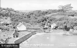 Dinas Cross, Cwm Yr Eglwys c.1960