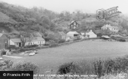 Dinas Cross, Cwm-Yr-Eglwys, Camping Ground And Village c.1955