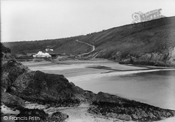 Dinas Cross, Pwllgwaelod Bay c.1955