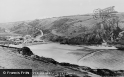 Dinas Cross, Pwllgwaelod Beach c.1960