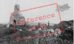 St Brychan's Church Ruins c.1960, Dinas Cross