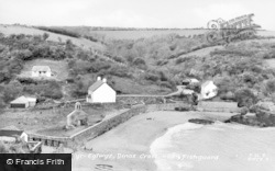 Dinas Cross, The Beach c.1955