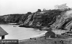 Dinas Cross, The Cliffs, Cwm-Yr-Eglwys c.1955