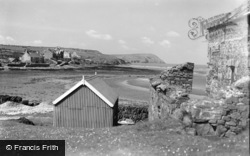 Dinas Cross, The Estuary And Dinas Head c.1930