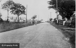 The School c.1960, Dinas Cross