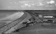 Dinas Dinlle, Beach c1958