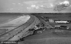 Dinas Dinlle, Beach c.1958