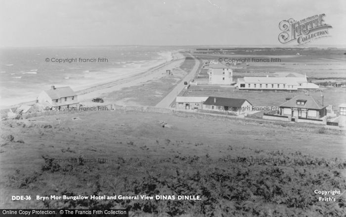 Photo of Dinas Dinlle, Bryn Mor Bungalow Hotel And General View c.1955