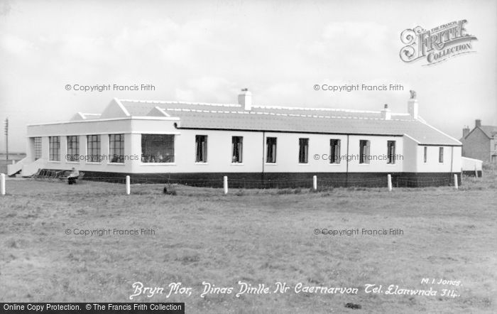 Photo of Dinas Dinlle, Bryn Mor c.1955