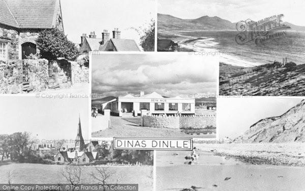 Photo of Dinas Dinlle, Composite c.1955