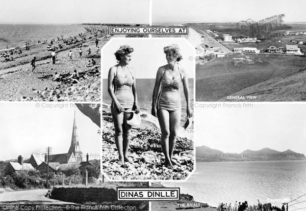 Dinas Dinlle, Composite c1955