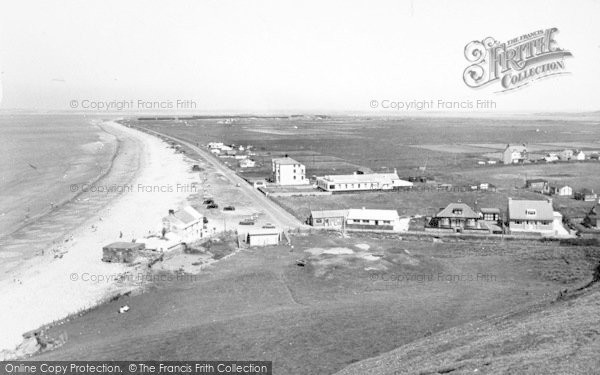 Photo of Dinas Dinlle, General View c.1955