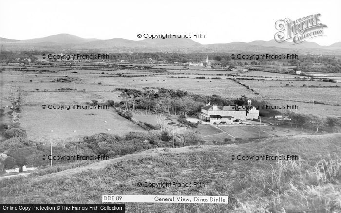 Photo of Dinas Dinlle, General View c.1960