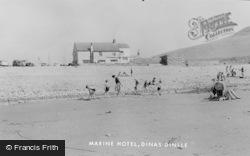 Dinas Dinlle, Marine Hotel c.1960