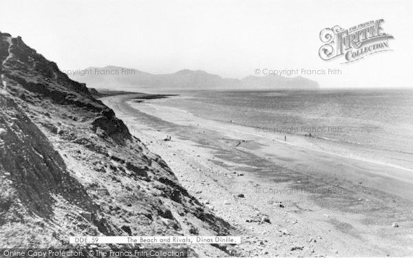 Photo of Dinas Dinlle, The Beach And Rivals c.1955