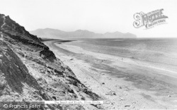 Dinas Dinlle, The Beach And Rivals c.1955