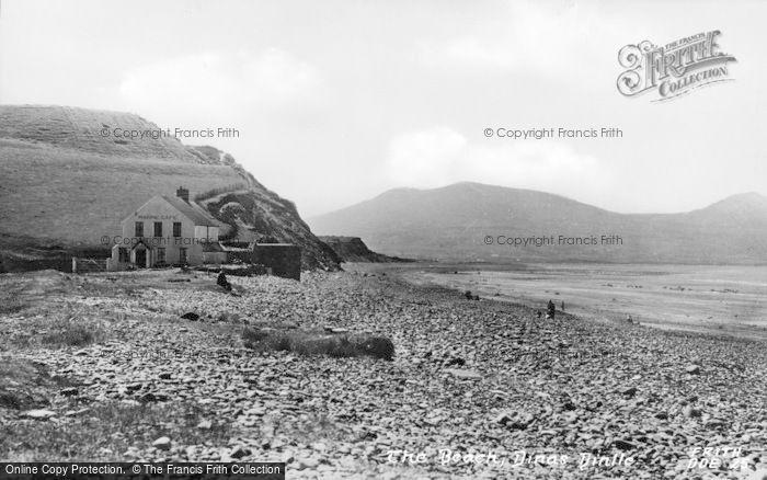 Photo of Dinas Dinlle, The Beach c.1955