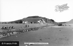 Dinas Dinlle, The Beach c.1960