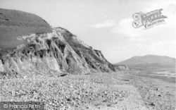 Dinas Dinlle, The Cliff c.1950