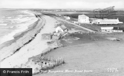 Dinas Dinlle, The Shore And Bryn Mor Bungalow c.1955