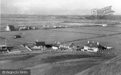 Dinas Dinlle, View From Dinas Hill c.1950