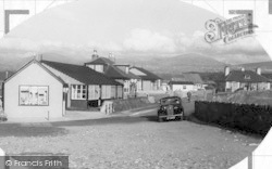 Dinas Dinlle, View From The Beach c.1955