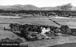 Dinas Dinlle, View Of Snowdonia Range c.1955