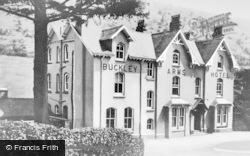 Dinas Mawddwy, Buckely Arms Hotel c.1950