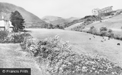 Dinas Mawddwy, Buckley Arms Hotel, View From The Garden c.1955