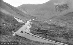 Dinas Mawddwy, Bwlchoerddrws Pass 1935