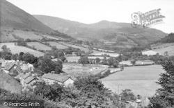 Dinas Mawddwy, General View c.1955