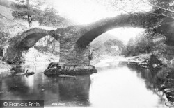 Dinas Mawddwy, Old Coach Bridge 1896