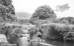 Dinas Mawddwy, Roman Bridge c.1955