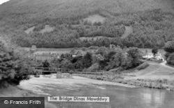 Dinas Mawddwy, The Bridge c.1935, Dinas-Mawddwy