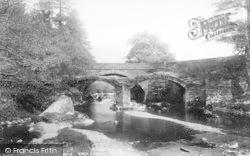 Dinas Mawddwy, The Bridges 1896
