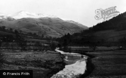 Dinas Mawddwy, The Valley c.1955