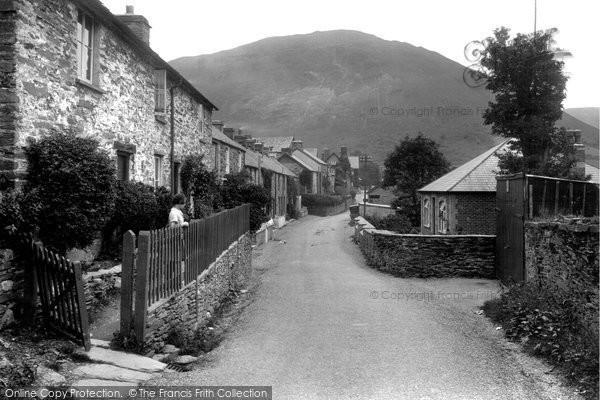 Photo of Dinas Mawddwy, The Village 1935