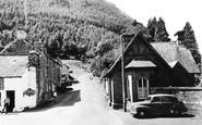 Dinas Mawddwy, the Village c1955