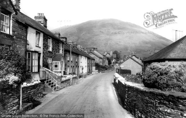 Photo of Dinas Mawddwy, The Village c.1955