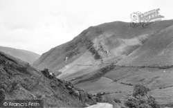 Dinas Mawddwy, View From Dinas Pass Road c.1955