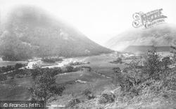 Dinas Mawddwy, Village 1896