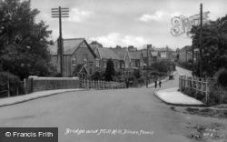 Bridge And Mill Hill c.1950, Dinas Powis