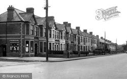 Dinas Powis, Cardiff Road c.1955