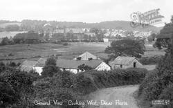 General View Liooking West c.1955, Dinas Powis