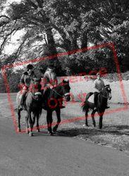 Horse Riding On The Common c.1965, Dinas Powis