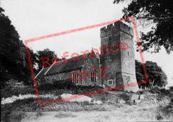 St Andrew's Church c.1950, Dinas Powis