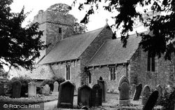 Dinas Powis, St Andrew's Major Church c.1955